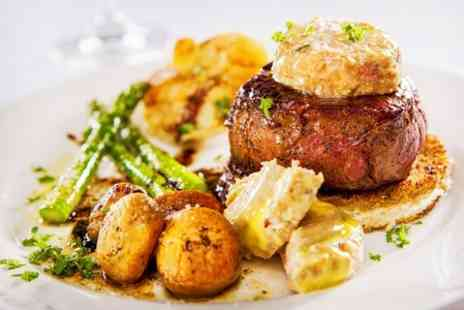 The White Horse Inn - Two Course British Meal For Two - Save 51%