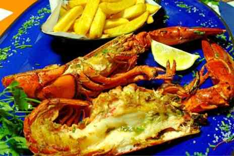 Marisko Seafood Restaurant - Lobster Squid Chips and Dessert For Two  - Save 50%