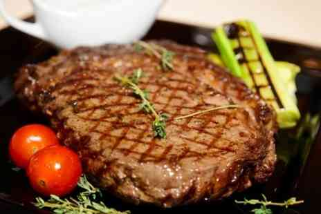 cactus grill bar restaurant - Steak Meal For Two  - Save 50%