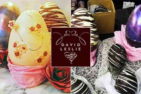 David Leslie - Learn the artistry of decorating Easter Eggs with Chocolatier - Save 50%