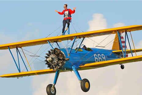 Aerobatic Tactics - Wing walking experience - Save 50%