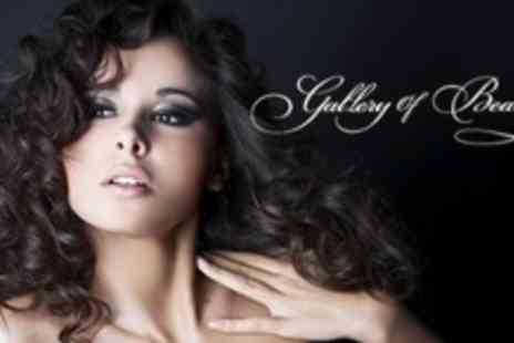 Gallery Of Beauty - Deep Conditioning Treatment, Wash, Cut and Blow Dry Plus Manicure - Save 64%