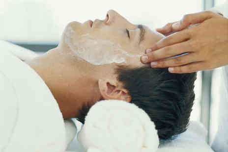 Peter Oliver - Facial Head Massage and Hot Towel Shave - Save 57%