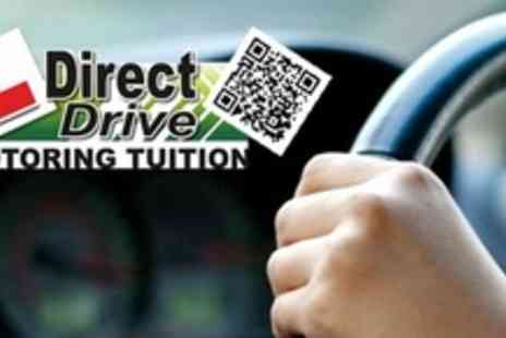 DirectDrive - Three Hours of Beginners Driving Lessons - Save 60%