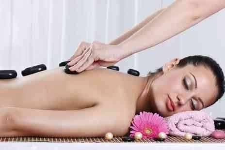 The Beauty Box - Hot Stone Massage Plus Facial - Save 50%