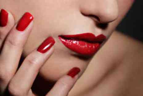 Glow Beauty - Shellac Manicure and Pedicure and Eyelash Tint - Save 61%