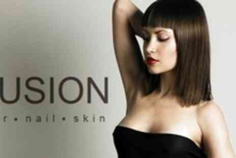 Fusion Hair - Haircut and Blow Dry - Save 64%