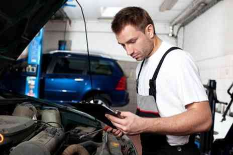 Driving Force - Oil Change MOT Vehicle Inspection and Diagnostic Package - Save 89%