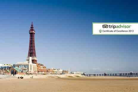 Alfies Hotel - Two night Blackpool break for 2 including breakfast - Save 41%