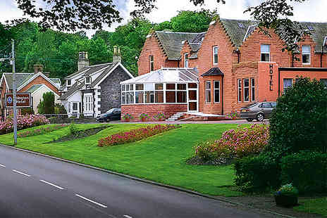 The Abington Hotel - One night break for Two including breakfast in Scotland - Save 58%