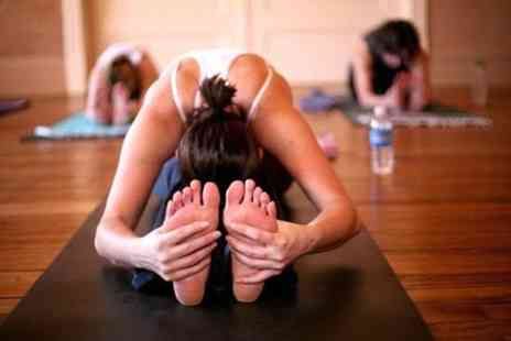 Fitness on Fire - Ten hot yoga classes with fitness mat provided - Save 52%