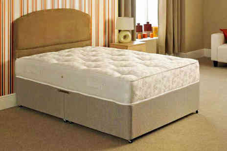 Tranquility Beds - Luxury Orthopaedic 1000 Pocket Sprung Mattress  - Save 68%