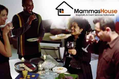 Mammas House - Three Course Canape Delivery for 10 People - Save 60%