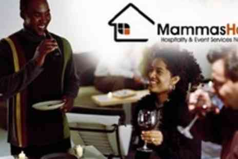 Mammas House - Three Course Canape Delivery for 20 People - Save 64%