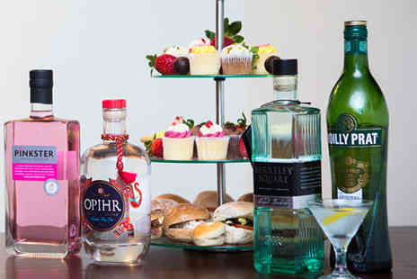 Drinking Classes - Gin tasting class and afternoon tea - Save 52%