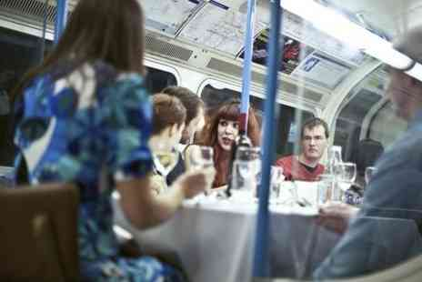 Grub Club - Two Course Meal on Double Decker Bus  - Save 52%