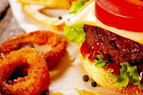 Fish A Licious - Family Burger Feast For Four With Sides and Drinks  - Save 50%