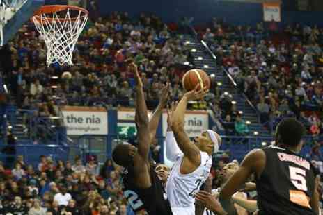 British Basketball League - BBL Trophy Final Glasgow Rocks Vs Worcester Wolves  - Save 60%