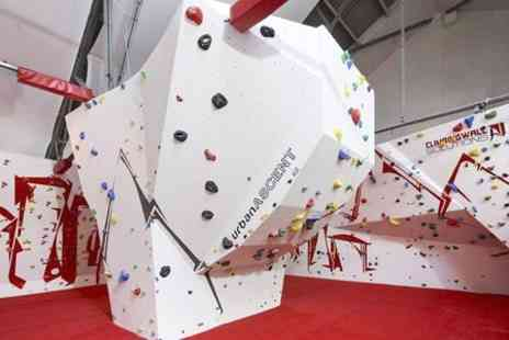 Urban Ascent - One Hour Introductory Climbing Session  - Save 60%