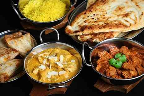 Spice Lounge - Two Course Indian Meal For Two  - Save 65%