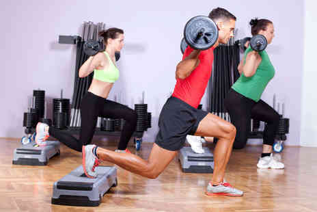 Jubilee Hall - Six Les Mills Fitness Classes Choose from Body Pump Body Combat Grit Strength Grit Plyo - Save 74%