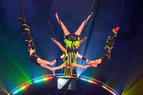 Gerry Cottle's Turbo Circus - 50 circus acts in 100 minutes Entry  - Save 55%