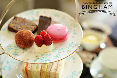 The Bingham - Laurent Perrier Champagne Afternoon Tea for Two - Save 50%