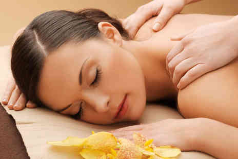 Beauty by Emmy - Pamper package including a choice of 3 facials, body scrub and back, neck and shoulder massage  - Save 78%