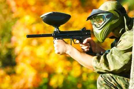 A.K Paintball - Paintball With Lunch Each - Save 94%