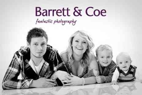 Barrett & Coe - One Hour Family Photo Shoot (£280 Value) - Save 90%