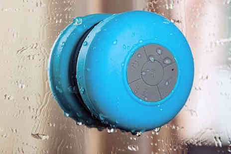 Shopper Gold - Bluetooth Shower Speaker in Choice of Colours - Save 77%
