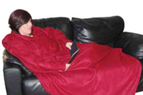 Shnuggles.co.uk. - Shnuggle Blanket with arms in a choice of 4 colours Stay warm this winter - Save 50%