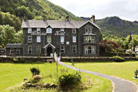 The Borrowdale Hotel - One Night Stay for Two People in Choice of Room with Daily Cumbrian Breakfast - Save 50%