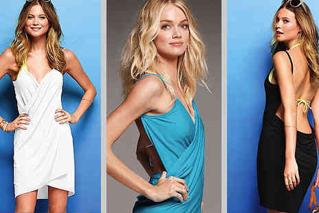 Flutterby Glam - Lovely Multi Style Beach Dress - Save 65%