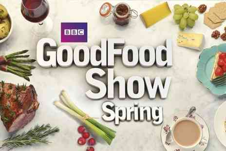 BBC Good Food Show Spring -  Half Day Entry Extensive showcase of food - Save 54%