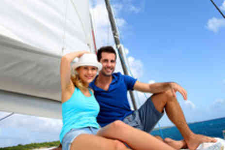 Escape Yachting - Luxury Yacht Experience with Lunch or Dinner for One Person - Save 50%