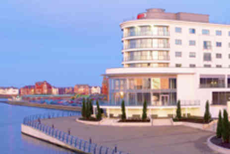 Ramada Plaza Southport - Southport Waterfront Stay with Dining Wine and Chocolates for Two - Save 50%