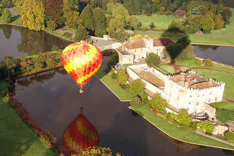 Balloons Over Britain - One Hour Hot Air Balloon Flight with Champagne Toast for One Person - Save 29%