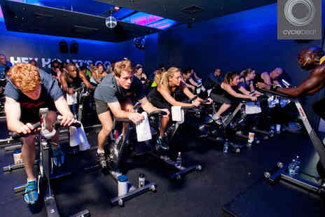 Cyclebeat - 20  Days of Unlimited Indoor Cycling - Save 50%