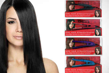 Shopper Gold - Travel Size Hair Straighteners - Save 67%