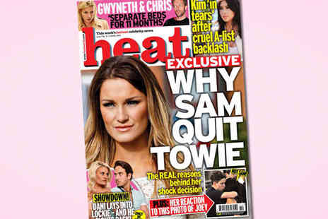 Heat Magazine - 15 Issue Subscription to Heat - Save 26%