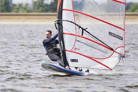 Datchet Watersports - Windsurfing Experience with Personal Tuition and Hire for One - Save 73%