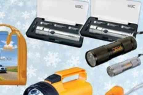 Car Audio Centre - RAC Winter Family Torch Light Pack Plus First Aid Kit - Save 77%