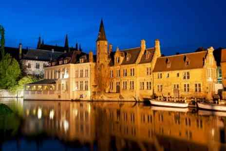 Anderson Tours - Bruges Day Tour With Return Luxury Coach and Cross Channel Ferry For Up To Four  - Save 51%