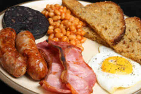 Hole In The Wall Cafe - Breakfast or lunch with a hot drink for two people - Save 50%