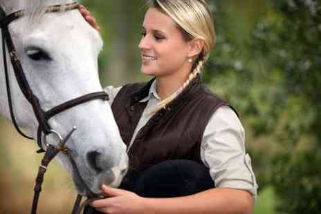 Manor Farm Riding Centre - Country hack experience for one person - Save 51%