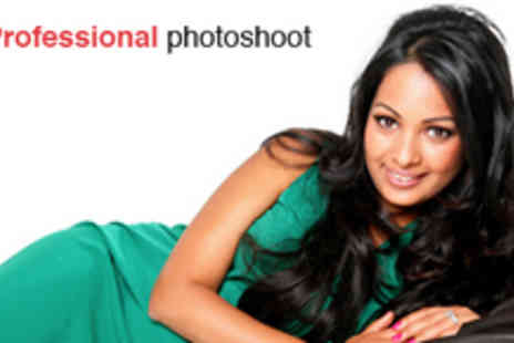 Bliss Studios - A Professional Photo Shoot with MAC Makeup, Pamper Package of a Mini Manicure and Hair Styling - Save 93%