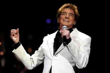 LHG Live - Tickets to see Barry Manilow LIVE in Concert for One Night  - Save 29%