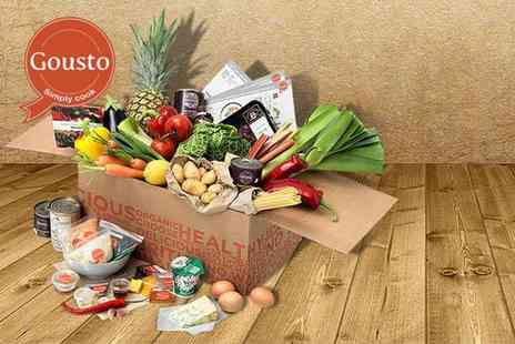 Gousto - One week Gousto subscription including 3 chef designed meals for 2 people - Save 51%