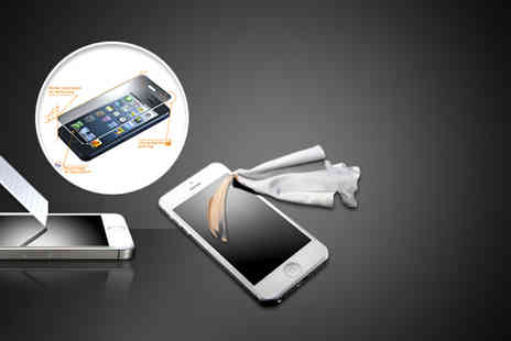 Eezee Lifestyle - 0.33mm thick iPhone 4/5 or Samsung S4 screen protector - Save 65%
